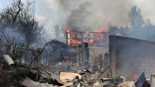 Оккупанты снова обстреляли позиции украинский войск