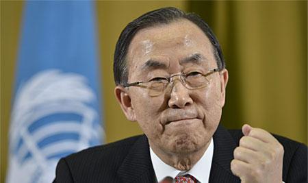 Глава ООН заявил о готовности увеличить присутствие сотрудников в Донбассе