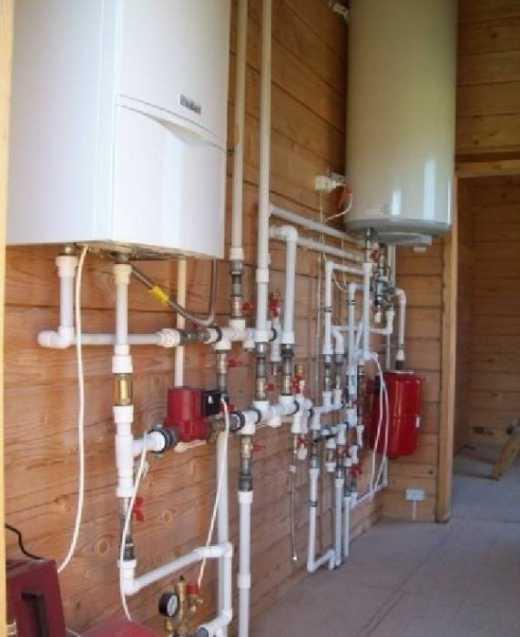 Монтаж системы отопления от мастеров в Киеве