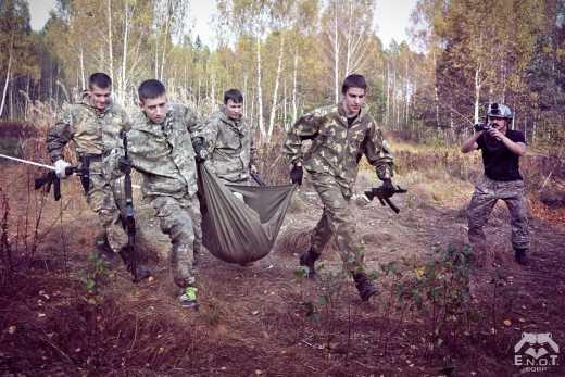 Под Марьинкой боевики достреливали своих раненых на поле боя