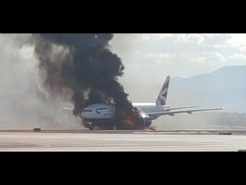 Во Флориде загорелся самолет, есть жертвы