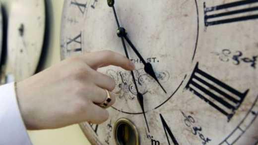 Не забудьте перевести годинник