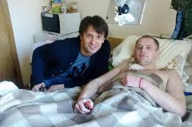 Олександр Шовковський відвідав екс-футболіста, бійця АТО