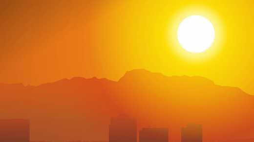 В странах Персидского залива температура вырастет до +77°С