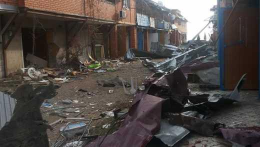 Бойовики усю ніч «обсипали» бійців АТО із зенітів та гранатометів