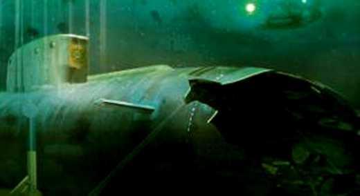 «Привіт» часів СРСР: потонулий атомний човен ось-ось вибухне