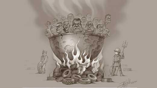 У Ровенского художника Юрия Журавля украли карикатуру для французского «Charlie Hebdo»