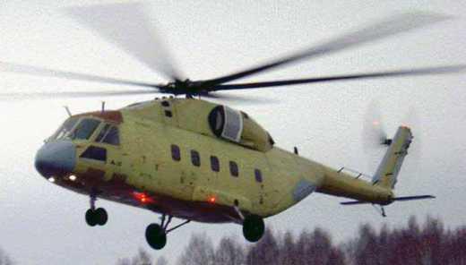 В России упал пассажирский вертолет Ми-8