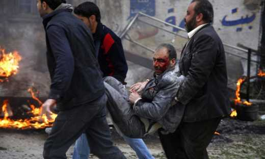 В інтернеті з'явилися жахливі фото наслідків російських авіаударів у Сирії