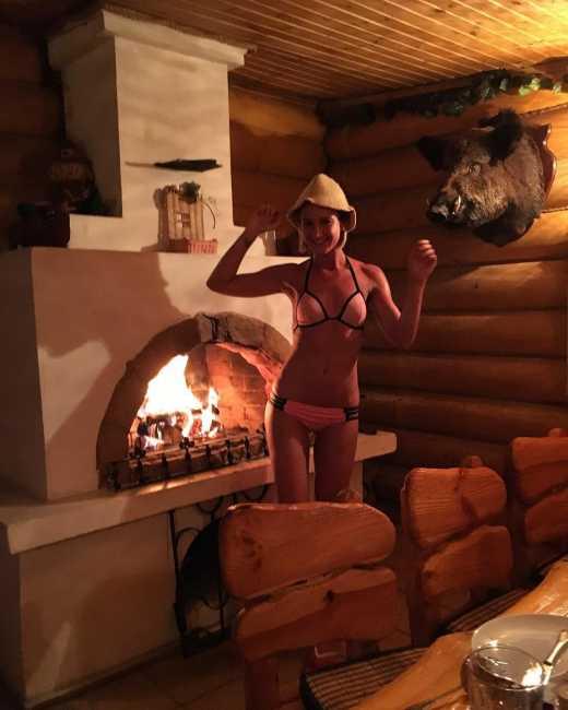 Ольга Бузова влаштувала відверту фотосесію в лазні (ФОТО)