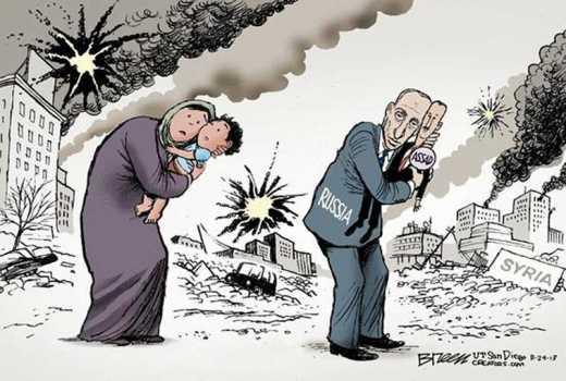 Россия использует запрещенные фосфорные бомбы против сирийской оппозиции (видео)