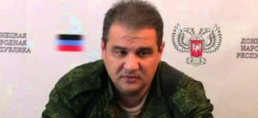 Еще один «министр ДНР» запроторен в подвал.