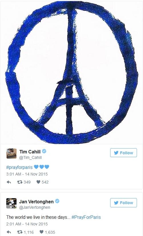 Вся футбольна спільнота об'єдналася в зв'язку з терактами у Парижі