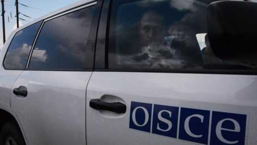 ОБСЕ: Боевики вывели к Мариуполю 18 гаубиц