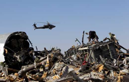 Разведчики назвали имя террориста, положившего бомбу в самолет А-321