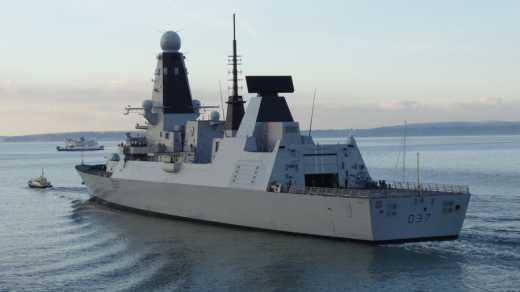 Ракетный эсминец ВМС Великобритании вошел в Черное море