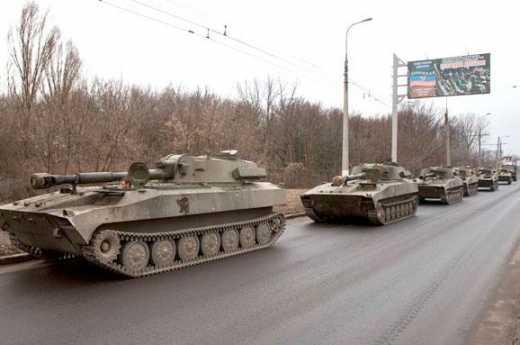 Боевики подтягивают тяжелое вооружения для атаки на Донбасс