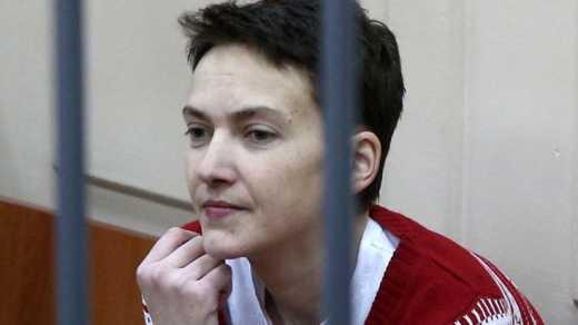 Надя Савченко внесла первый законопроект