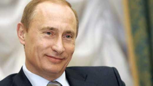 В России слепым дали пощупать лицо Путина