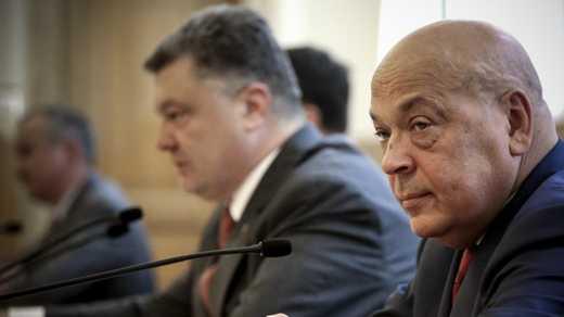 Порошенко не принял заявление об отставке Москаля
