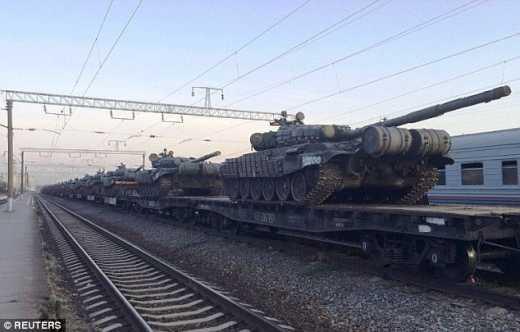 Россия отводит войска из Сибири к границам Украины