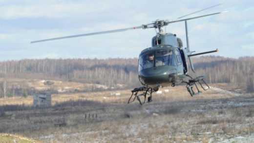 У Росії знову впав вертоліт, є жертви