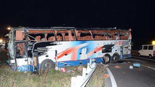 В Австрии ДТП: автобус с украинскими номерами влетел в огорожу, один человек чуть не сошел с ума