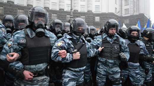 С Украины уже сбежали 20 «Беркутов», которые убивали майдановцев