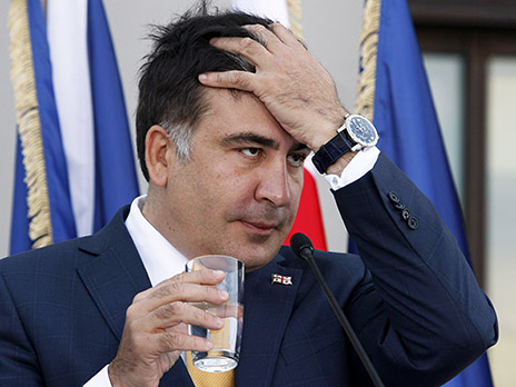 В Грузии российский олигарх отжал центральный канал, — Михеил Саакашвили