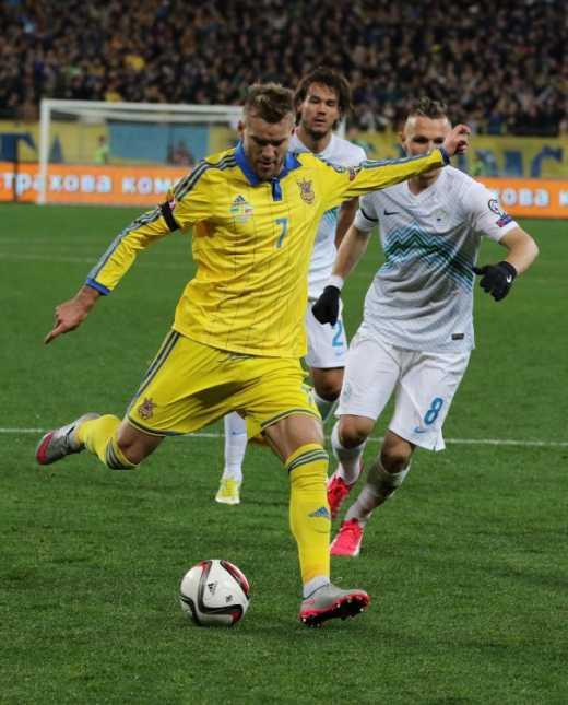 Україна — Словенія: кращий гравець матчу