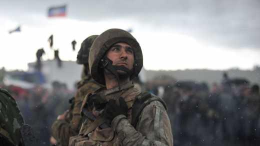 Во время атаки боевики ранили двух украинских военных