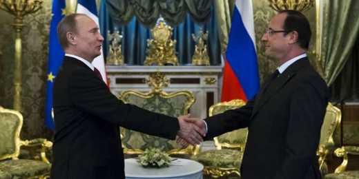 Путін і Олланд у Кремлі поговорять про Україну