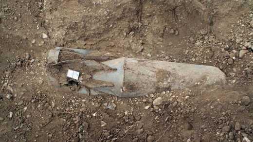 На Ровенщине нашли 250-кг авиабомбу