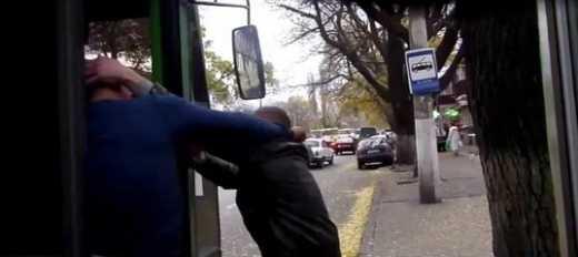 В Одесі п'яний пасажир побився з водієм тролейбуса