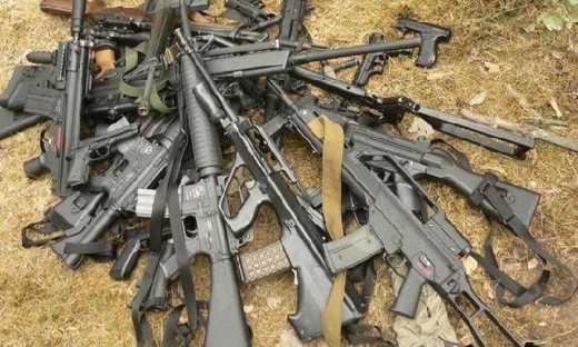На Харківщині СБУ зупинила контрабанду зброї з Росії