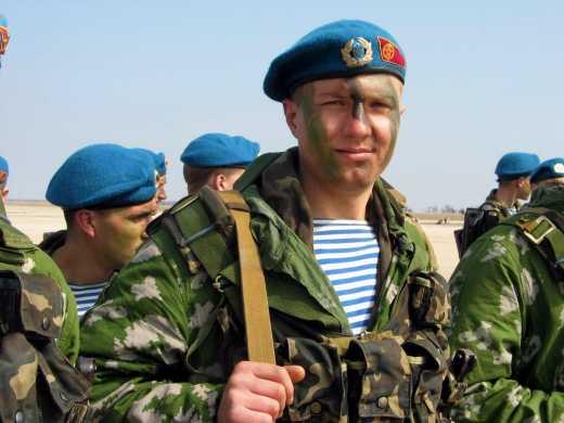 Десантники, яких затримали в Криму – дезертири