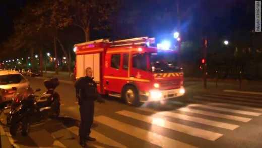Первое видео штурма «Батаклана» в Париже