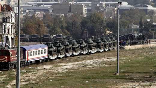 Турция приготовилась к защите: военные танки уже на границе