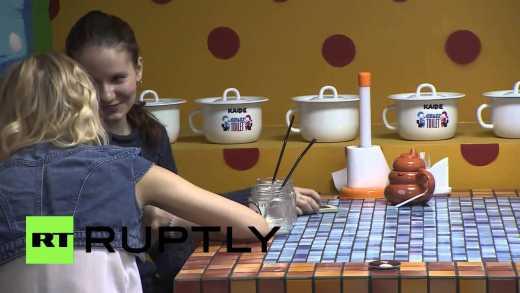 В Москве открыли кафе стилизованное под туалет