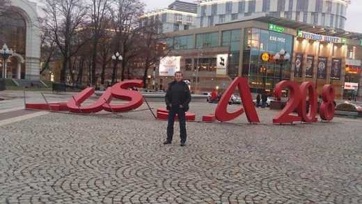 """У Калінінграді шторм перетворив напис """"Russia"""" на """"USA"""" (ФОТО)"""