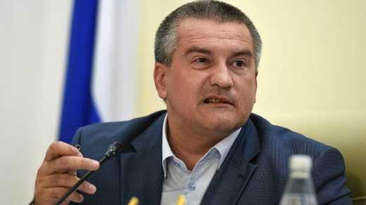 Аксьонов оголосив у окупованому Криму режим воєнного часу