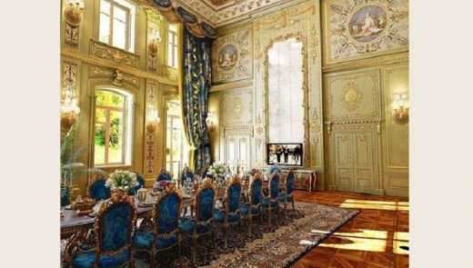 Дом-дворец Виктора Пшонки станет лагерем для детей (ФОТО)