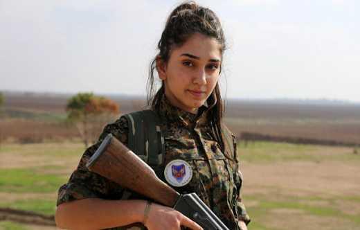 Женщины-христианки присоединились к борьбе с ИГИЛ (ФОТО)