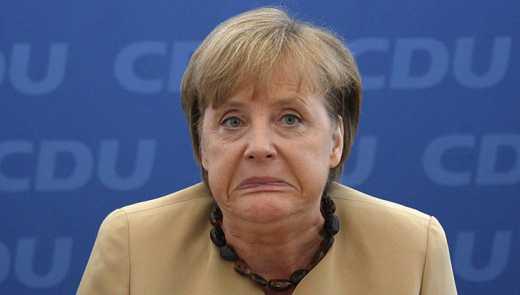 Ангелу Меркель «застукали» в супермаркете (ФОТО)