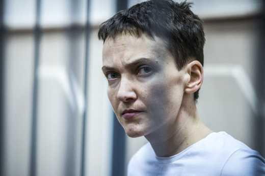 Савченко обьявила новую голодовку
