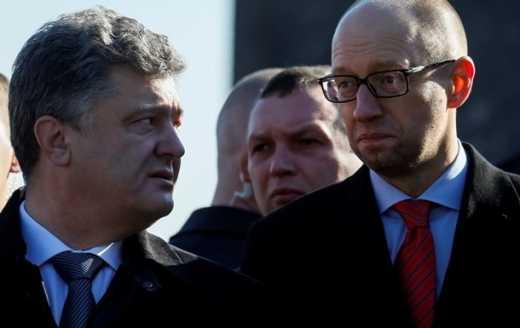 Порошенко попередив Яценюка про відставку у березні