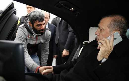 Associated Press: Ердоган врятував самогубця