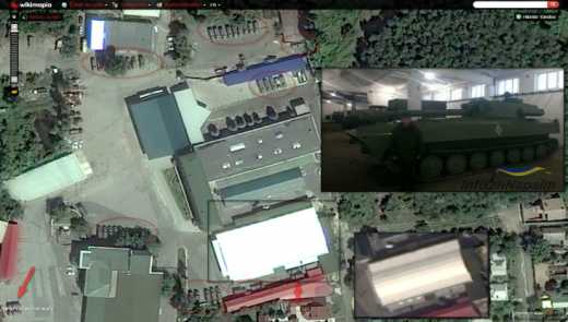 У центрі Донецька викрили базу військ РФ