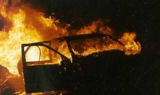 На Донеччин підірвалося авто з військовослужбовцями