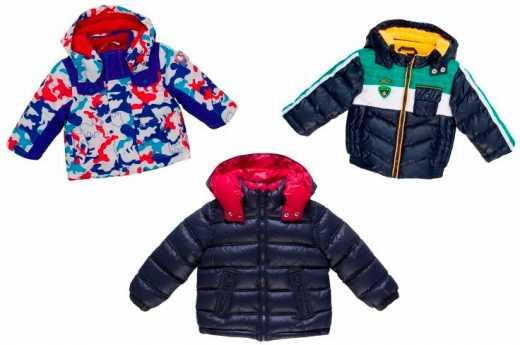 В Розетку поступила итальянская верхняя одежда для мальчиков